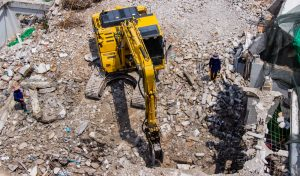 Épületbontás, tereprendezés, földmunka, törmelék elszállítás - borítókép - épületbontás pest megye