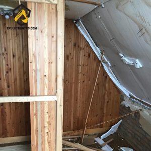nyaraló bontása - épületbontás