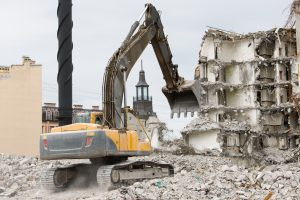 épületbontás-ára